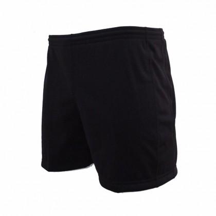 Amnig  Kids-Adult Rugby Player Shorts - Black