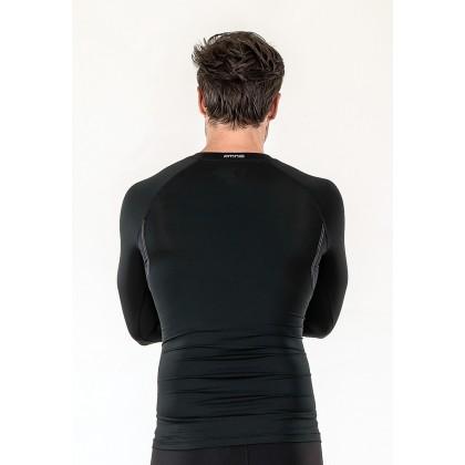 Amnig Men Diligent Compression Long Sleeve Top
