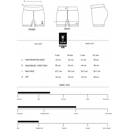Amnig Women Maxforce Recapture Compression Shorts
