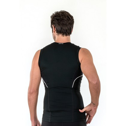 Amnig Men Diligent Compression Sleeveless Top