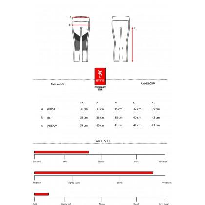 Amnig Women Training Cropped Legging