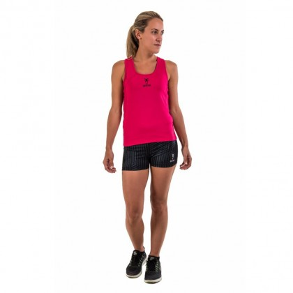 Amnig Women Recapture 2 in 1 Compression Singlet with Sport Bra