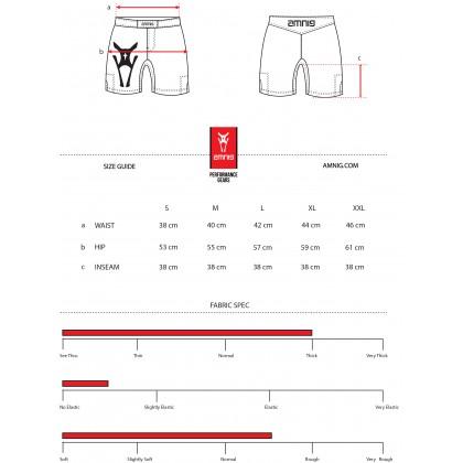 "Amnig Men Basic 15"" Fighter Shorts"