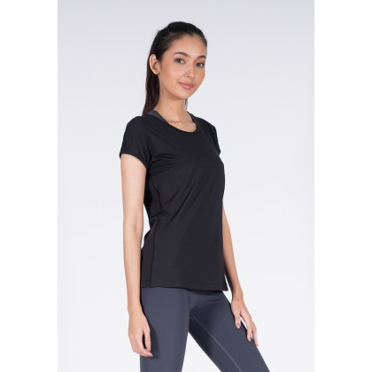 Amnig Women Training Short Sleeve Top
