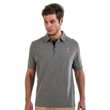 Amnig Men Classic Cotton Polo