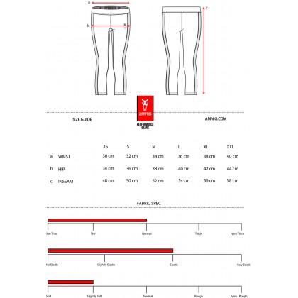 Amnig Women Active 7/8 Legging