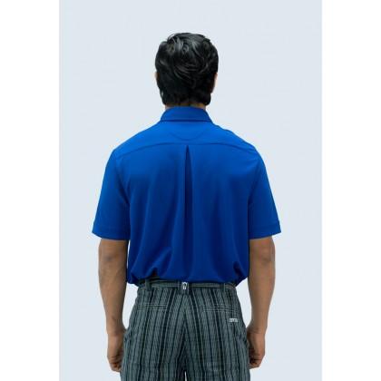 Amnig Men Button Up Polo