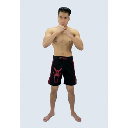 """Amnig Men Side Panel 20"""" Fighter Shorts"""