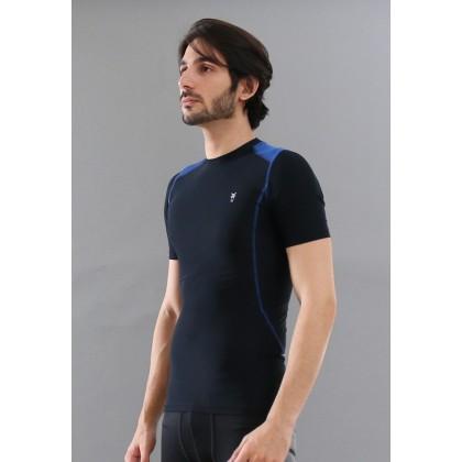 Amnig Men Maxforce Compression Short Sleeve Top